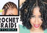 This Is A Braided Protective Hairstyle. If You Didn't Know How To Install Marley Hair, Now You'll know.
