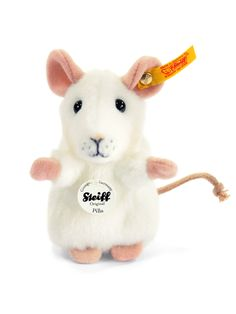 Steiff Pilla Mouse: Soft Stuffed Plush Animal