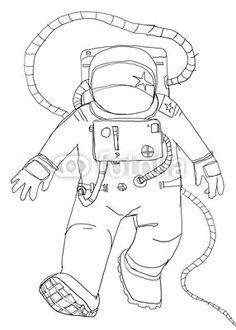 Raumfahrer Vintage