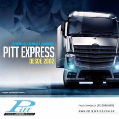 Estamos na ativa desde 2002, ou seja, temos uma longa experiência no ramo.  Pitt Express: mais comodidade e segurança para sua carga.