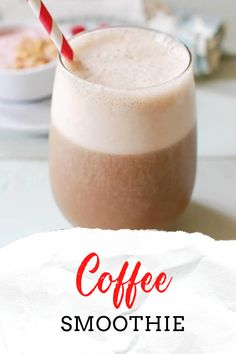 A Coffee Smoothie is a great way to start your day or provide you with that afternoon boost you might need. Coffee, Silk Caramel Creamer, ice, vanilla and a frozen banana are blended together to create a delicious pick-me-up.