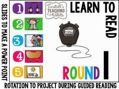 http://www.teacherspayteachers.com/Product/Guided-Reading-Rotation-Board-1421918