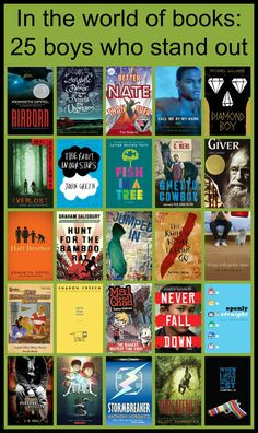In the World of Books: 25 Boys Who Stand Out For Kellee