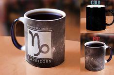 I love this awesome Capricorn zodiac mug since my birthday is in January it's perfect for me. Though, I do wish it was in purple! #mugs #capricorn #zodiac #gifts #shopping #coffee #commissionlink