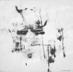 E. Besozzi pitt. 1963 Immagine vegetale china su carta arc. 816