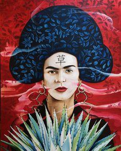 Frida Geisha by Patrushka