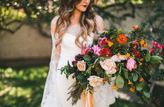 Giant lush bouquet by Siren Floral Co.