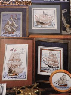 Historic Tallships Cross Stitch Design USS Constitution Mayflower Nina Smooth Sail Charts Stoney Creek Designs Collection Chart Book No 344 Cross Stitch Charts, Cross Stitch Designs, Anchor Threads, Uss Constitution, Raggedy Ann And Andy, Mighty Morphin Power Rangers, Sewing Patterns For Kids, May Flowers, Vintage Sewing