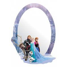 Jégvarázs, Frozen, Elsa és Anna tükör Disney Frozen, Olaf, Heros Disney, Disney Characters, Anna Et Elsa, Prom Hairstyles For Short Hair, Mirrors Wayfair, Wall Mounted Mirror, Dresses Kids Girl