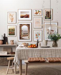 Estilo Interior, Interior Styling, Provence, Desenio Posters, Gold Poster, Stylish Kitchen, Country Farmhouse Decor, French Countryside, Arte Popular