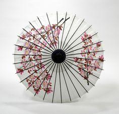 和傘 - 紙舞日傘 こども用和傘 桜絵