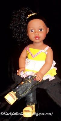 Black Doll Collecting: I Had No Plans...