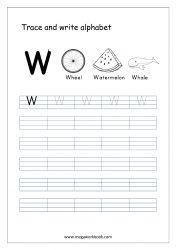 English Worksheet - Alphabet Writing - Small Letter w English Alphabet Writing, Alphabet Writing Worksheets, Alphabet Writing Practice, Writing Practice Worksheets, Alphabet Templates, Alphabet Tracing, Learning Letters, Hindi Worksheets, Small Letters