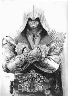 Ezio Brotherhood - I'm a cool by ~Vadu20 on deviantART