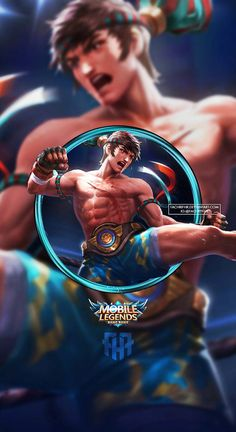 Wallpaper Phone Chou King of the Fighter by FachriFHR, Pugb Mobile, Wallpaper Phone Chou King of the Fighter by FachriFHR Source by Mobile Legend Wallpaper, Hero Wallpaper, Wallpaper Desktop, Disney Wallpaper, Wallpaper Ideas, Wallpaper Quotes, Wallpaper Backgrounds, Moba Legends, Alucard Mobile Legends