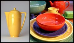 Bauer Pottery Collage