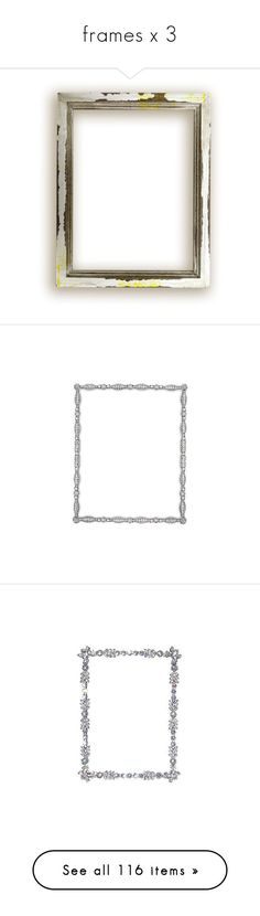 """""""frames x 3"""" by loves-elephants ❤ liked on Polyvore featuring frames, borders, picture frame, home, home decor, backgrounds, jeweled picture frames, christmas home decor, jeweled frames and christmas frames"""