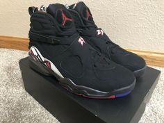 20333584e87 NIKE AIR JORDAN RETRO 8 PLAYOFFS SIZE 11 2013 DEADSTOCK BEST PRICE! XI XII  XIII