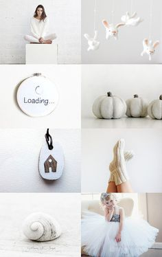 Whiteness by WOWSTUFFS on Etsy--Pinned with TreasuryPin.com