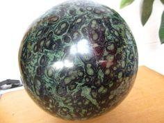 27.61lb Green Kambaba JASPER STROMATOLITE Fossil Quartz Crystal Sphere Ball