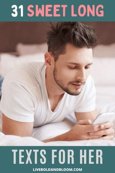 Show your girl how much you love her by sending her a long text message. Check out our list that you can use to express your love and thoughtfulness.