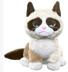 L'arrivée de nouveaux origine Grumpy Cat mignon doux peluche peluche poupée anniversaire des enfants cadeau limitée Collection dans Animaux en peluche et rembourrés de Jouets & loisirs sur AliExpress.com | Alibaba Group