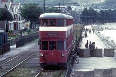 The Swansea & Mumbles Railway Swansea Bay, Swansea Wales, Wales Map, Old Lorries, Old Train Station, Rail Car, Bus Coach, Great Western, London Transport