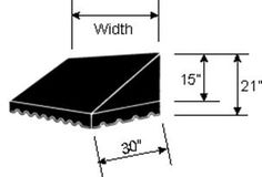 Classic Awning Dimension Picture