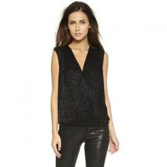 30% off Diane Von Furstenberg - Top Eva Embellished Black - $313.60 #dvf #dianevonfurstenberg #top