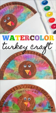 Paper Plate Turkey Craft for Kids Paper Plate Turkey Craft for Kids,Fall, Back to School and Thanksgiving I love this Paper Plate Turkey Craft for Kids! It is an easy and colorful art project that will get you in the Thanksgiving mood!