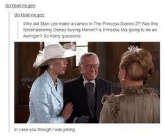 Stan Lee in the Princess Diaries 2