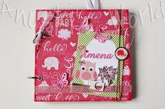 Álbum de embarazo y bebé para Jimena - Anuski´s World