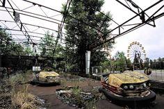 Chernobyl + amusement park: Josh's engineering background