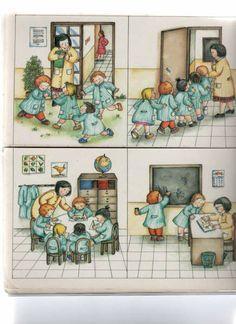 Teo en la escuela Sequencing Pictures, Sequencing Cards, Story Sequencing, Kids Education, Special Education, Play School Toys, Kindergarten Math, Preschool, Possessive Nouns