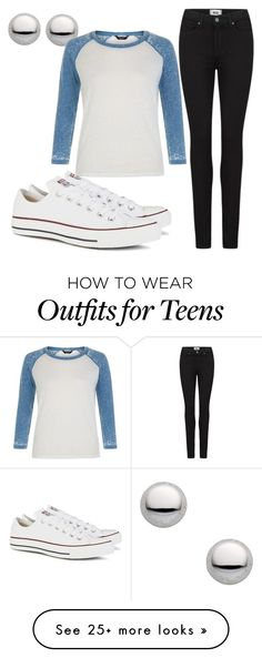 """""""Untitled #422"""" by wwe-is-bae on Polyvore featuring moda, Marc by Marc Jacobs, Paige Denim e Converse"""
