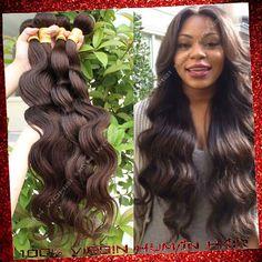 Find More Hair Weaves Information about 6a Cheap Human Hair 100g Bundles Dark Brwon #2 Brazilian Virgin Hair Weaves Bundles Brazilian Body Wave,High Quality Hair Weaves from Xuchang Ishow Virgin Hair  Co.,Ltd on Aliexpress.com