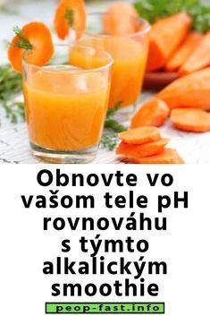 Obnovte vo vašom tele pH rovnováhu s týmto alkalickým smoothie Cantaloupe, Smoothie, Ph, Detox, Fruit, Food, Essen, Smoothies, Meals