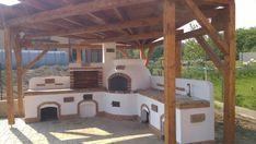 Kerti konyha - Veresegyház Outdoor Kitchen Plans, Backyard Kitchen, Backyard Garden Design, Outdoor Kitchen Design, Backyard Projects, Outdoor Fireplace Designs, Creative Landscape, Home Reno, Outdoor Gardens
