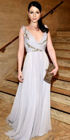 Michelle Trachtenberg in Marchesa at the 2011 School of American Ballet Winter Ball, March 2011