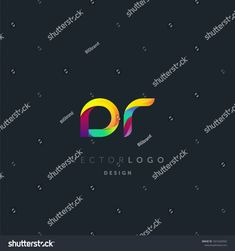 Letters DR, D&R logo, multi colour letters icon vector template. Dr Logo, Letter Icon, Images O, Brand Design, Royalty Free Stock Photos, Letters, Templates, Colour, Board