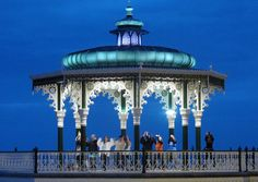 Earth Hour 2012: Brighton Zumba Workshop on Hove seafront bandstand