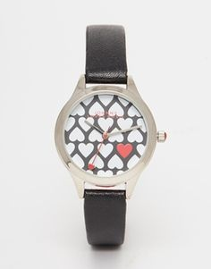 Johnny Loves Rosie Heart Dial Watch