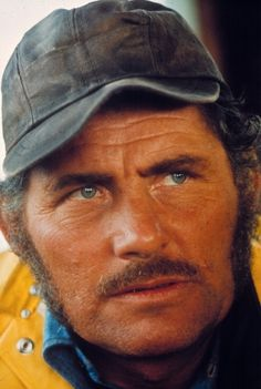 Robert Shaw (1927-1978) - here as Quint in JAWS - was a gifted British actor, playwright and novelist highly acclaimed for his numerous works: 'From Russia with Love' (1963), 'A Man for All Seasons' (1966), 'The Sting' (1973), 'The Taking of Pelham One Two Three' (1974) and 'JAWS' (1975).  Despite his success, he was  almost always in debt due to taxes and supporting his 10 children!
