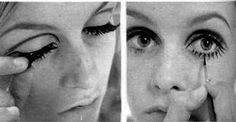 twiggy inspired makeup - Google zoeken