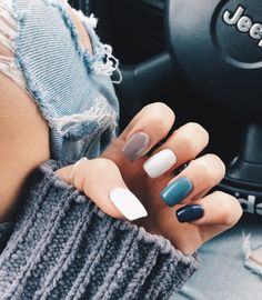37 fun, stylish, and trendy summer nail art designs you should try . - 37 fun, stylish, and trendy summer nail art designs you should try … – – ou - Simple Acrylic Nails, Summer Acrylic Nails, Acrylic Nail Designs, Nail Art Designs, Colorful Nails, Nails Design, Spring Nails, Pastel Nails, Short Nail Designs