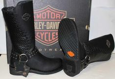 Harley-Davidson leather Clothing for Women | womens harley davidson riding boots181 Ladies Harley Davidson Aimee 11 ...