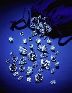 sea of loose diamonds.....