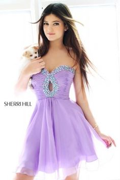 Kendall Jenner and Kylie Jenner model for Sherri Hill  obsessed with every sherri hill dress  need one