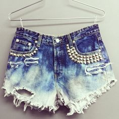 Sexy Women Girl Summer High Waist Ripped Hole Wash Denim Jeans Shorts Pants = 4721366788 from Bling Bling Deals. Saved to Style. Summer Wear, Spring Summer Fashion, Summer Outfits, Cute Outfits, Grunge Outfits, Fashion Outfits, Womens Fashion, Hot Pants, Tokyo Street Fashion