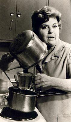 .NITZA VILLAPOL. She was our Julia Child in television.